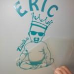 sticker mural à poser soi-même avec Atomistickers