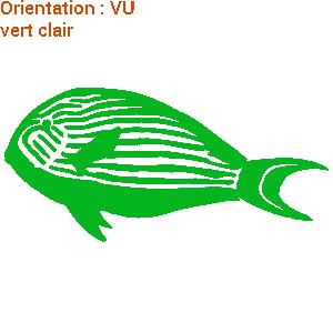 ATOMIStickers crée un sticker poisson de mer chirurgien.