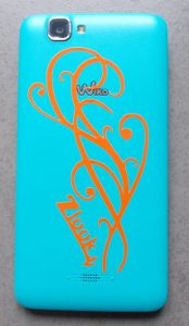 Sticker Arabesque pour décorer la coque de votre téléphone (personnalisation par Zlook)