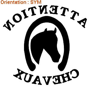 ATOMIStickers offrir cavalier équitation trouver autocollant cavalier balade.