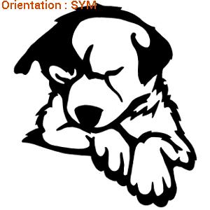 ATOMIStickers spécialisé en autocollants chiens et chiots.