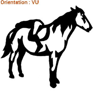 ATOMIStickers van cheval au pre sabot sabot qui galope cheval au pre original.