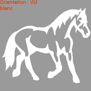 ATOMIStickers monter à cheval tuto éducatif signalétique déco de van vinyle lettrages qui court.