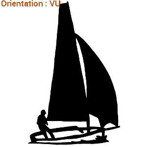 Le sticker voilier et marin est une invention d'atomistickers.