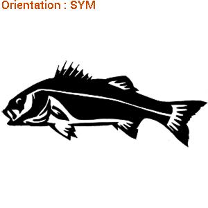 Le sticker bar (zlook poisson) est indispensable pour votre bateau.