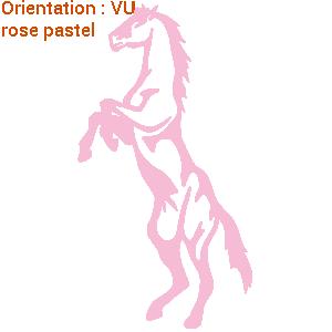 Grand choix d'autocollants chevaux sur zlook.fr en ligne.