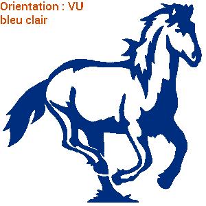 ATOMIStickers j'aime mon cheval vente personnalisable lettrage déco de van club équitation saut d'obstacle.