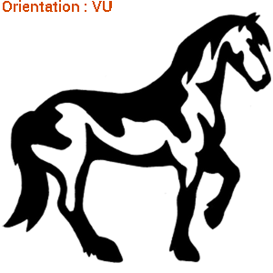 ATOMIStickers dresser cavalier cadeau club équitation œillères sticker race de chevaux.