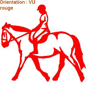 ATOMIStickers cabrer horse sticker dresser cabre décoration équitation.