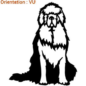 Le chien terre neuve est un sticker de la marque zlook.