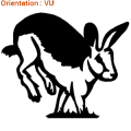 Sticker autocollant lapin de garenne est maintenant en ligne sur atomistickers !
