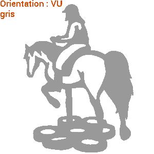 ATOMIStickers œillères j'aime mon cheval original cavalier trot qui trotte tuto éducatif.