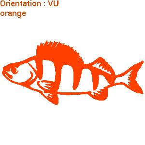 Un sticker perche sur zlook dans la gamme poisson de rivière.
