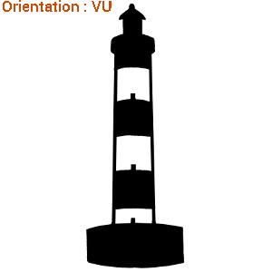 Autocollant phare pour décoration adhésive dbord de mer par zlook.