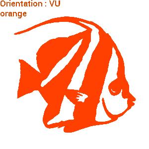 Acheter un sticker autocollant poisson de mer avec atomistickers.