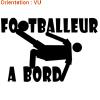J'aime le foot en sticker !