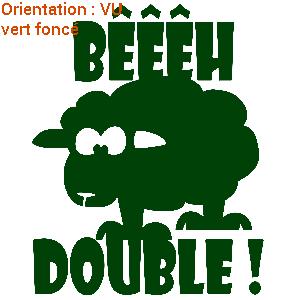 Mouton Profil Beeh Double