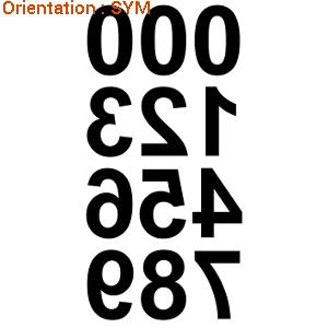 Stickers adhésifs pour écrire avec des chiffres sur atomistickers.