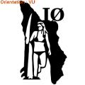 Acheter ce sticker autocollant Oleron Island avec une surfeuse (zlook surf)