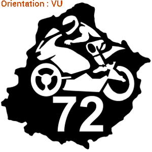 Sticker 24h du Mans autocollant moto de course sur zlook formule 1 et motard.