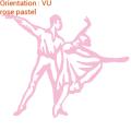 J'aime la danse et je le montre avec cet autocollant ATOMIstickers danseuse.