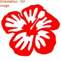 Les stickers fleurs d'ATOMIstickers sont en vinyle adhésif.