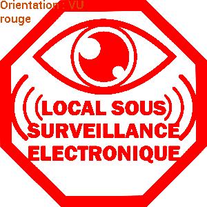 ATOMIStickers anti-cambriolage autocollant stickers pare-brise zlook alarme propriété.