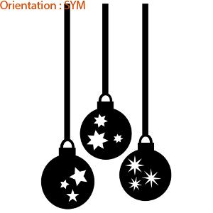 Des étoiles adhésives pour une déco de Noël sympa, c'est sur atomistickers.
