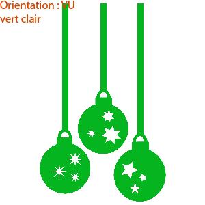 La déco de Noël sera complète avec les autocollants pour vitre de zlook.