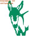 Zlook âne : gros plan de ce sticker adhésif ânes.