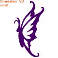 Sticker papillon autocollants papillons vente en ligne adhésifs zlook butterfly.