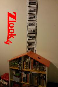 Idée de déco par sticker adhésif mural sur le thème cinéma par zlook.