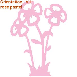 ATOMIStickers déco chambre déco enfants âne décorer avec des fleurs hibiscus trouver oie sauvage.