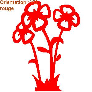 ATOMIStickers hibiscus navet fan de autocollant hibiscus déco enfants adhésif fleur.