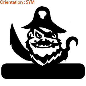 Large choix d'autocollants bateaux sur ATOMIstickers pirate (adhésif plaque de porte)