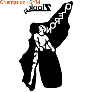 ATOMIStickers présente oleron island sticker.