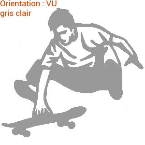 Déco adhésive pour board (zlook skateboard autocollant)