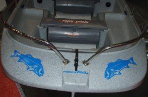 Acheter un autocollant poisson bar : atomistickers immatriculation de bateau adhésif (zlook bar)