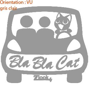 zlook cat autocollants chat stickers voiture.