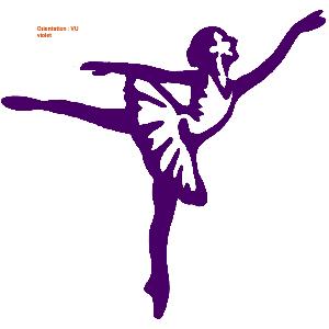 Les autocollants fillette sont idéaux pour un cadeau à une danseuse (atomistickers danse classique)