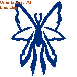 Les autocollants papillons sont disponibles en plusieurs couleurs sur zlook.fr